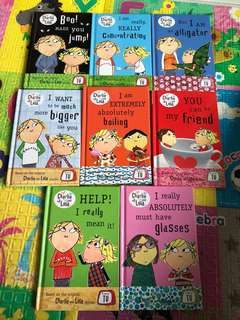 Charlie and Lora - a set of 8 books