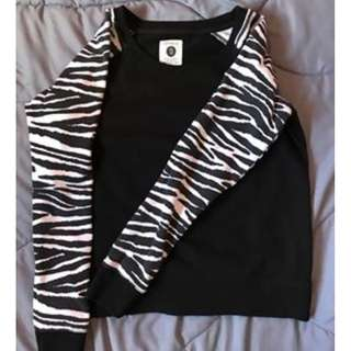 Long sleeves (Zebra Print)