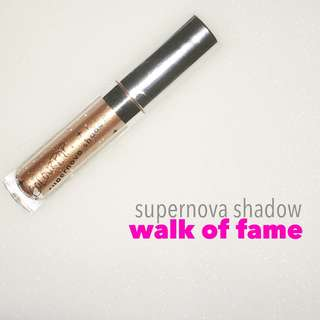 Colourpop Supernova Shadow in Walk of Fame