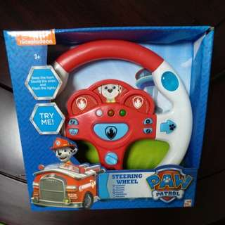 BN Nickelodeon Paw Patrol Marshall Pup Fire Truck Steering Wheel