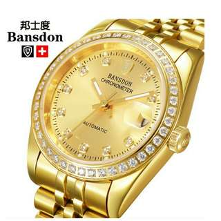 Luminous Gold Luxury Brand Name Watch for sale!