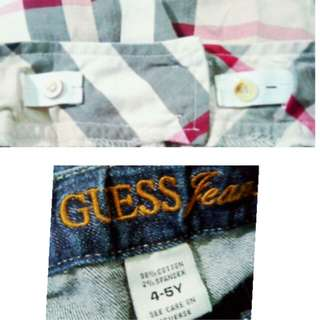 Burberry & Guess skirts