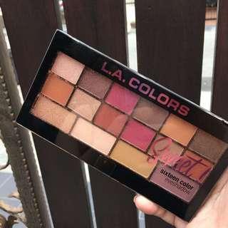 [READY STOCK] LA Color Sweet 16 Eyeshadow palette