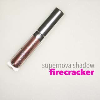 Colourpop Supernova Shadow in Firecracker