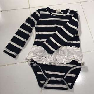 Jumper Navy Stripe