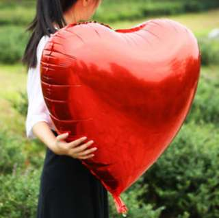 Giant 36inch heart shaped balloons
