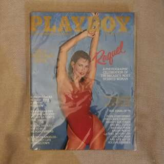 中古本 Playboy 雜誌英文原版 1979.12