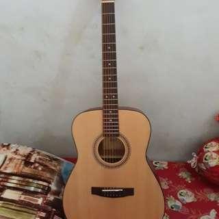Guitar Acoustic Cort / Gitar Akustik / Gitar String cort Free bag