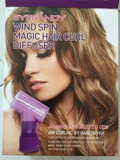Wind Spin magic Hair Curl Diffuser