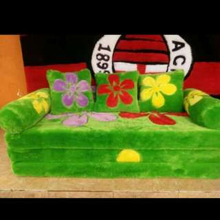 Sofa bed bulu multifungsi