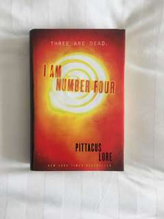 I Am Nunber Four Hardbound by Pittacus Lore