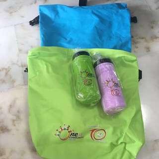 Bags & Water Bottles
