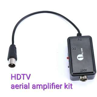1byone Aerial booster Digital High Gain Low Noise Amplifier/Signal Booster for Indoor or Outdoor HDTV Aerial