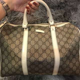 Authentic PVC Gucci Bag