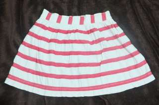 Osh Kosh Stripes Skirt 4T