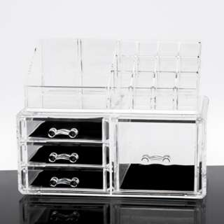 Acrylic make up drawer cosmetic storage PER SET