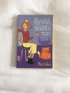 The Princess Diaries Mia Goes Fourth by Meg Cabot