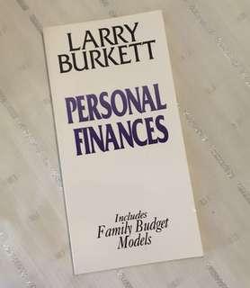 Charity Sale! Personal Finance by Larry Burkett Christian Book