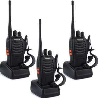 Retevis H-777 Two Way Radios Long Range UHF 400-470MHz 16CH CTCSS/DCS Walkie Talkies (3 Pack)