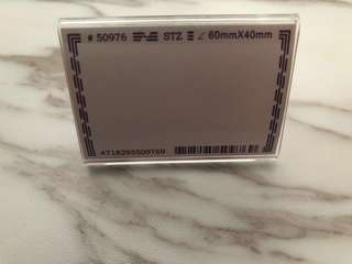 Acrylic display tag (9pcs)