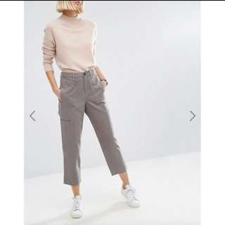 ASOS cropped chino trousers