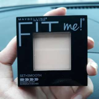Maybelline fit me set+smooth pressed powder