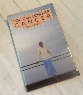 Charity Sale! You Can Conquer Cancer by Ian Gawler Christian Book