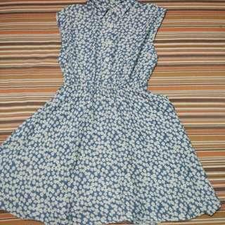 Simple floral dress