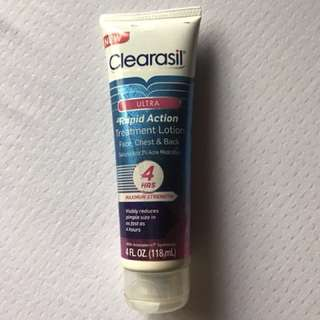 Clearasil Ultra Rapid Action Treatment Lotion (Face, Chest and Back)