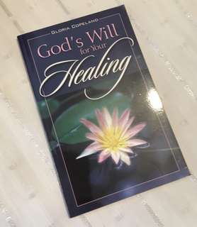 Charity Sale! God's Will for Your Healing by Gloria Copeland Christian Book