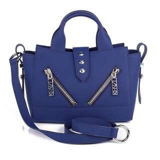 Kenzo Navy Kalifornia Bag 手袋  Mini