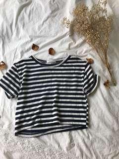 Striped Crop Top