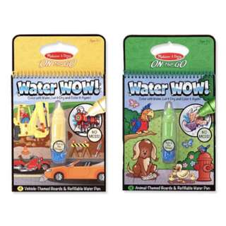 Melissa & Doug Go Water Wow (Set of 2) - Vehicles and Animals
