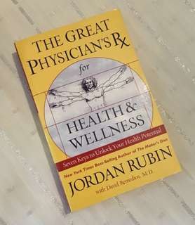 Charity Sale! The Great Physician's Rx by Jordan Rubin