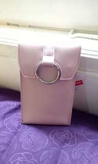 "Puch hp, dompet, mini bag ""miniso"" pink"