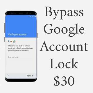Bypass Google Lock