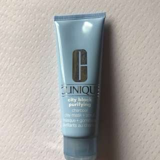 Clinique City Block Purifying Clay Mask + Scrub