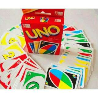 Kartu Uno / Uno Card / Game Uno Polos / UNO Plain Card / Mainan Edukasi