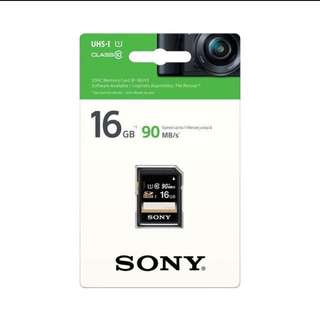 SONY SD card