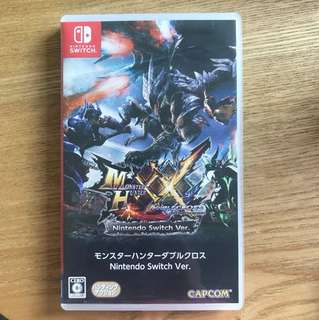 Switch Nintendo monster hunter