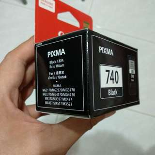 Black inkjet cartridge for Canon PIXMA printers