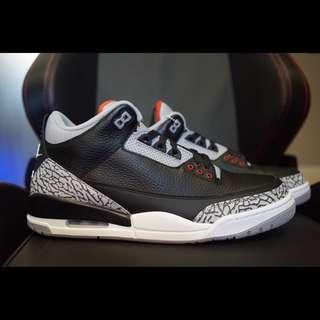 "Air Jordan 3 Retro ""Black Cement"""