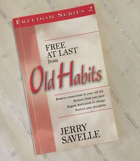 Charity Sale! Free At Last from Old Habits by Jerry Savelle Christian Book