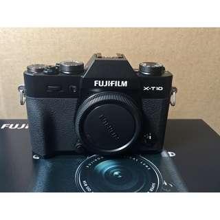 Fujifilm XT-10 body mint