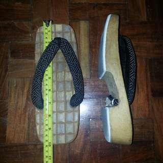 Japanese wooden slippers  geta 25.5cm