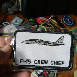 F15 Crew Chief Patch