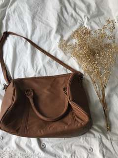 Brown Sling Bag/carry bag
