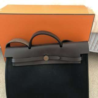 Authentic Hermes Herbag 39
