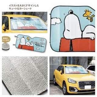 日本🇯🇵史努比汽車遮太陽擋
