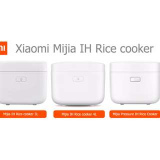 New Arrivel Original High Quality Professional Xiaomi MiJia IH 3L Capacity 1130W Smart Electric Rice Cooker Multifunction Xiaomi IH Rice Cooker With Smartphone APP WiFi Control 220V-50HZ